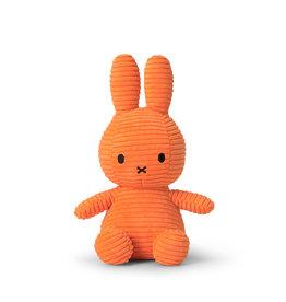 nijntje Miffy Sitting Corduroy Orange 23 cm