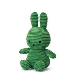 nijntje Miffy Sitting Corduroy Spring Green 23 cm