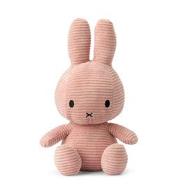 nijntje Miffy Sitting Corduroy Pink 33 cm