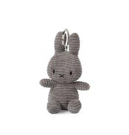 nijntje Miffy Keychain Corduroy Grey