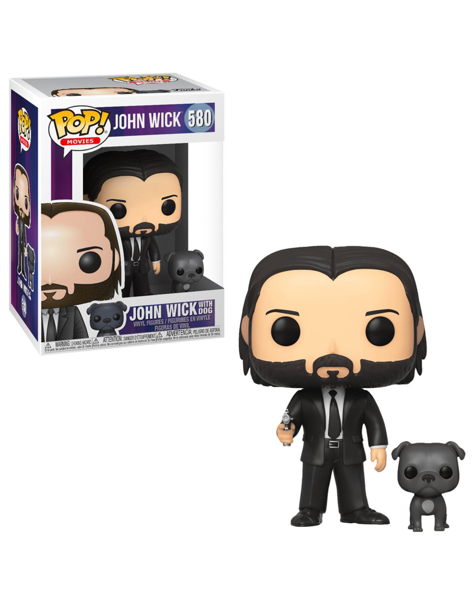 Funko Pop! Funko Pop! Movies nr580 - John Wick with Dog