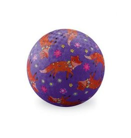 "Crocodile Creek 13 cm Rubber Speelbal ""Foxes"""