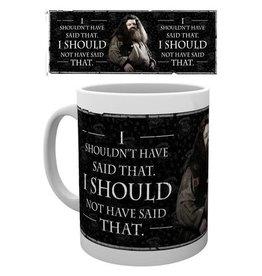 Mok Harry Potter - Hagrid Quote