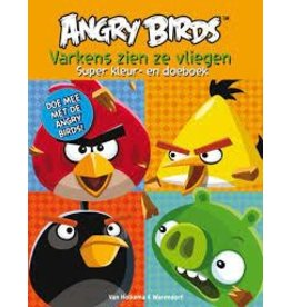 Angry Birds Kleur & Doeboek