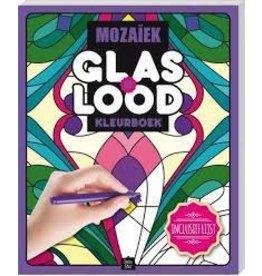 """Glas in Lood Kleurboek """"Mozaïek"""""""