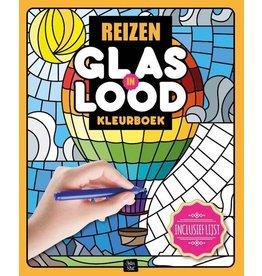 "Glas in Lood Kleurboek ""Reizen"""