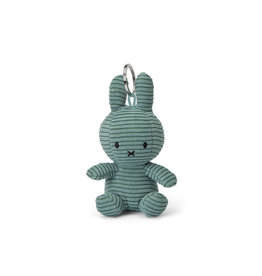 nijntje Miffy Keychain Corduroy Green 10 cm