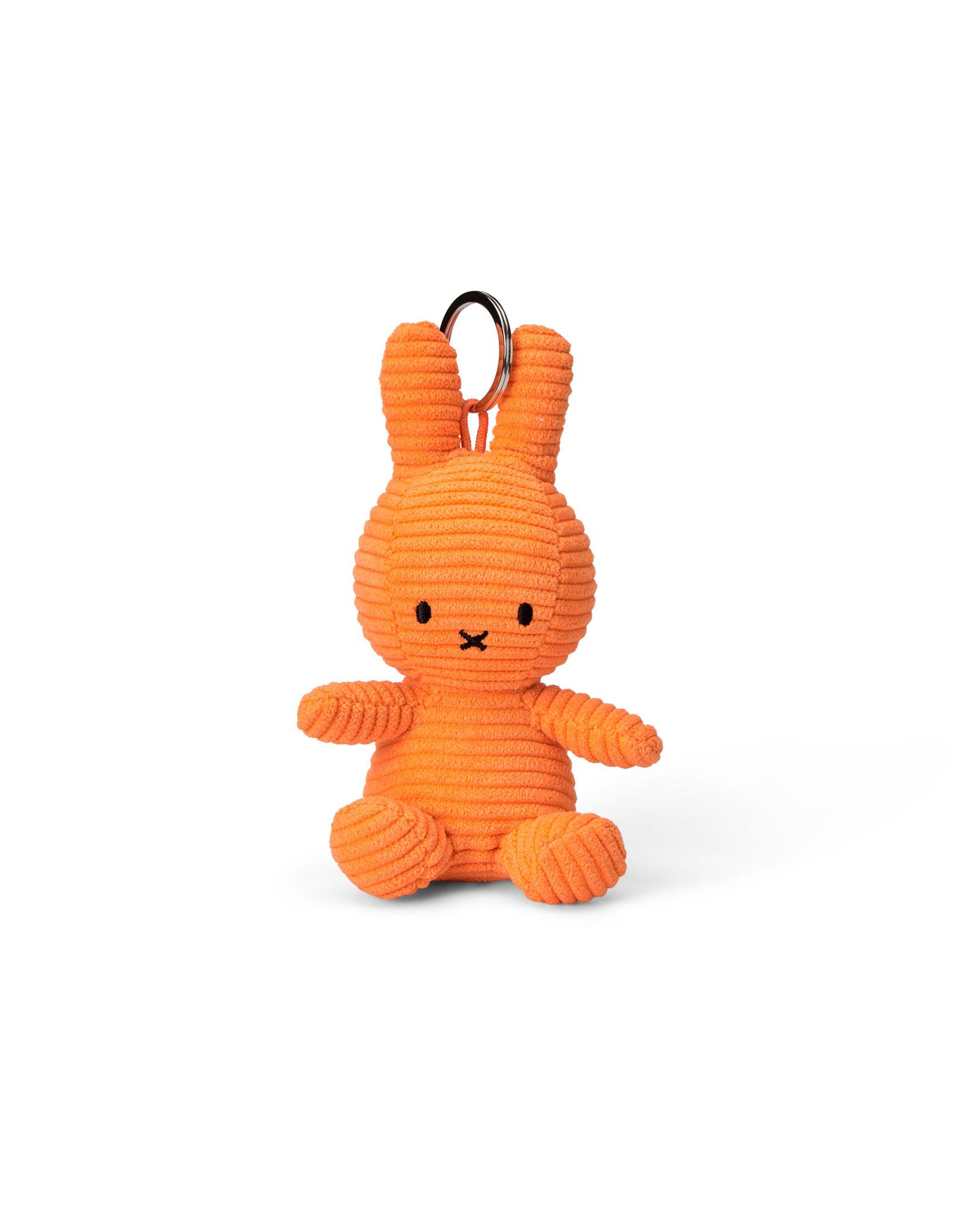 nijntje Miffy Keychain Corduroy Orange 10 cm