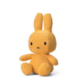 nijntje Miffy Sitting Corduroy Yellow 33 cm