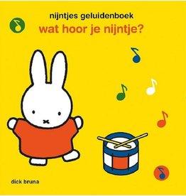 nijntje nijntjes geluidenboek - wat hoor je nijntje?