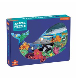 Mudpuppy Shaped Puzzle 300 st - Ocean Life