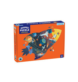 """Mudpuppy Shaped Puzzle 300 st """"Outer Space"""""""