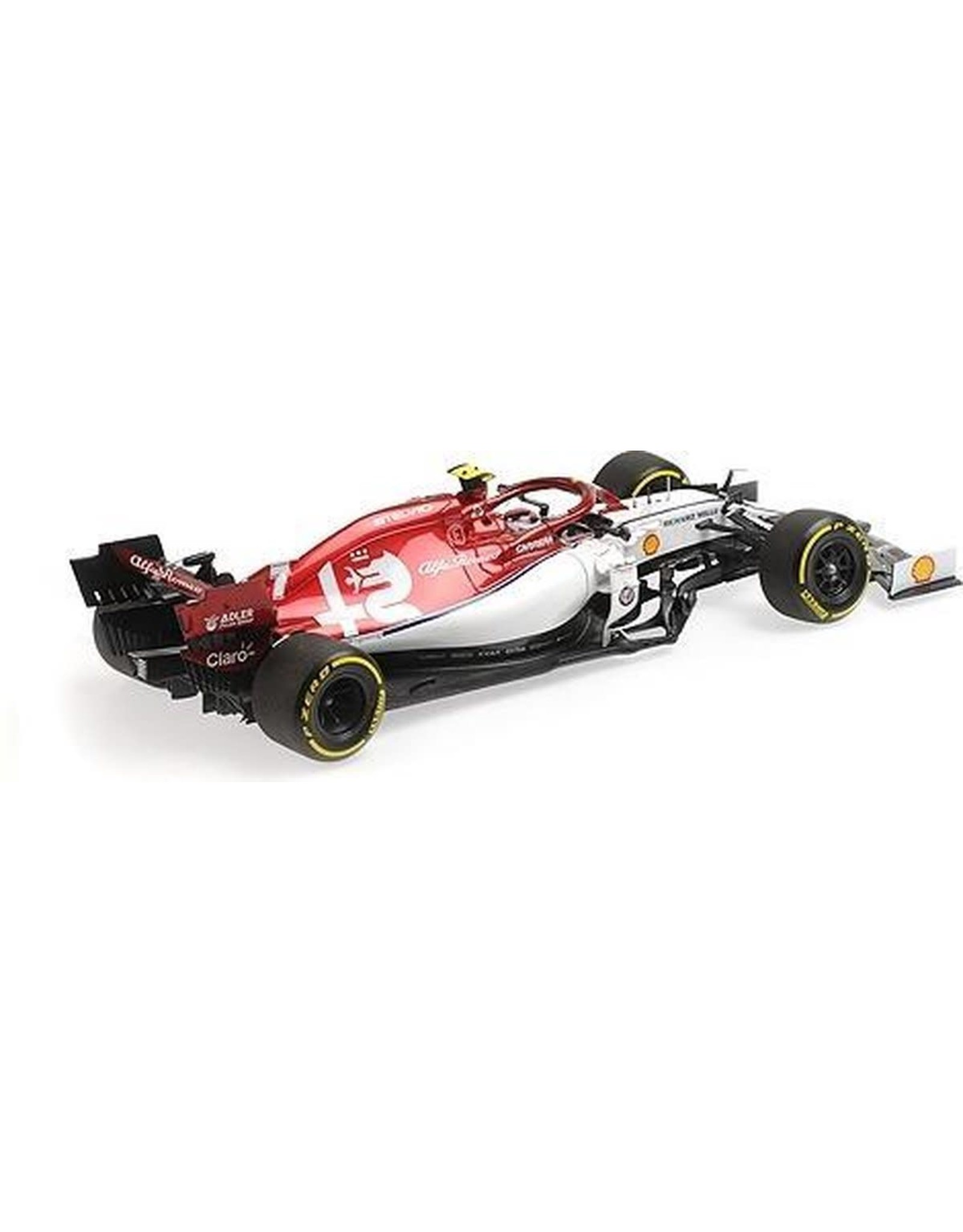 Minichamps 1:18 Alfa Romeo Racing C38 K. Raikkonen 2019