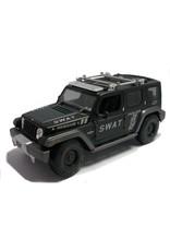 Maisto Jeep Rescue Concept Police SWAT