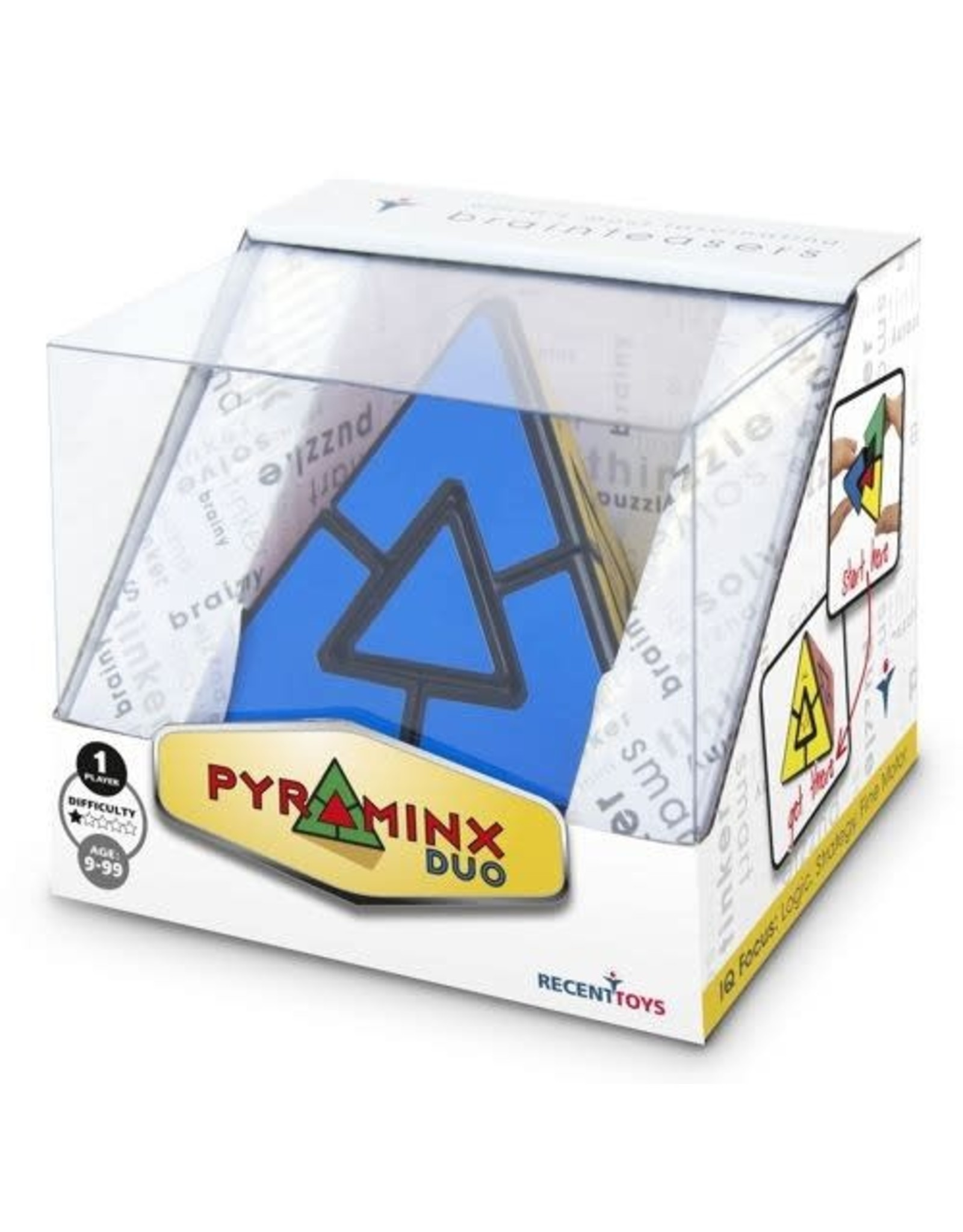 Recent Toys Pyraminx Duo Brainpuzzel
