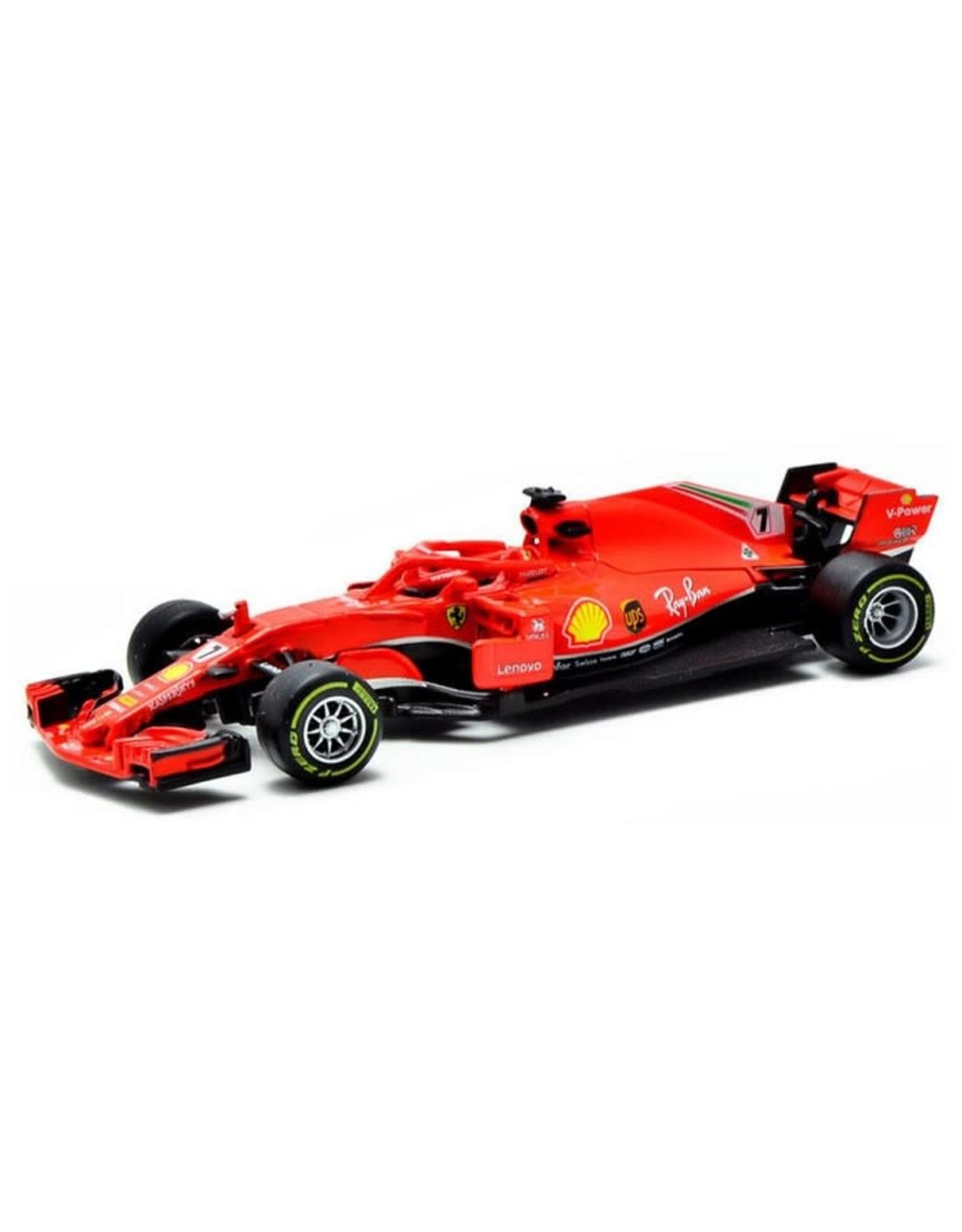 Burago F1 Ferrari SF71H nr.7 (K. Raikkonen)
