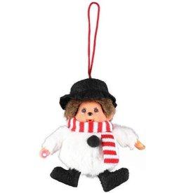 Monchhichi MONCHHICHI Kersthanger Snowman
