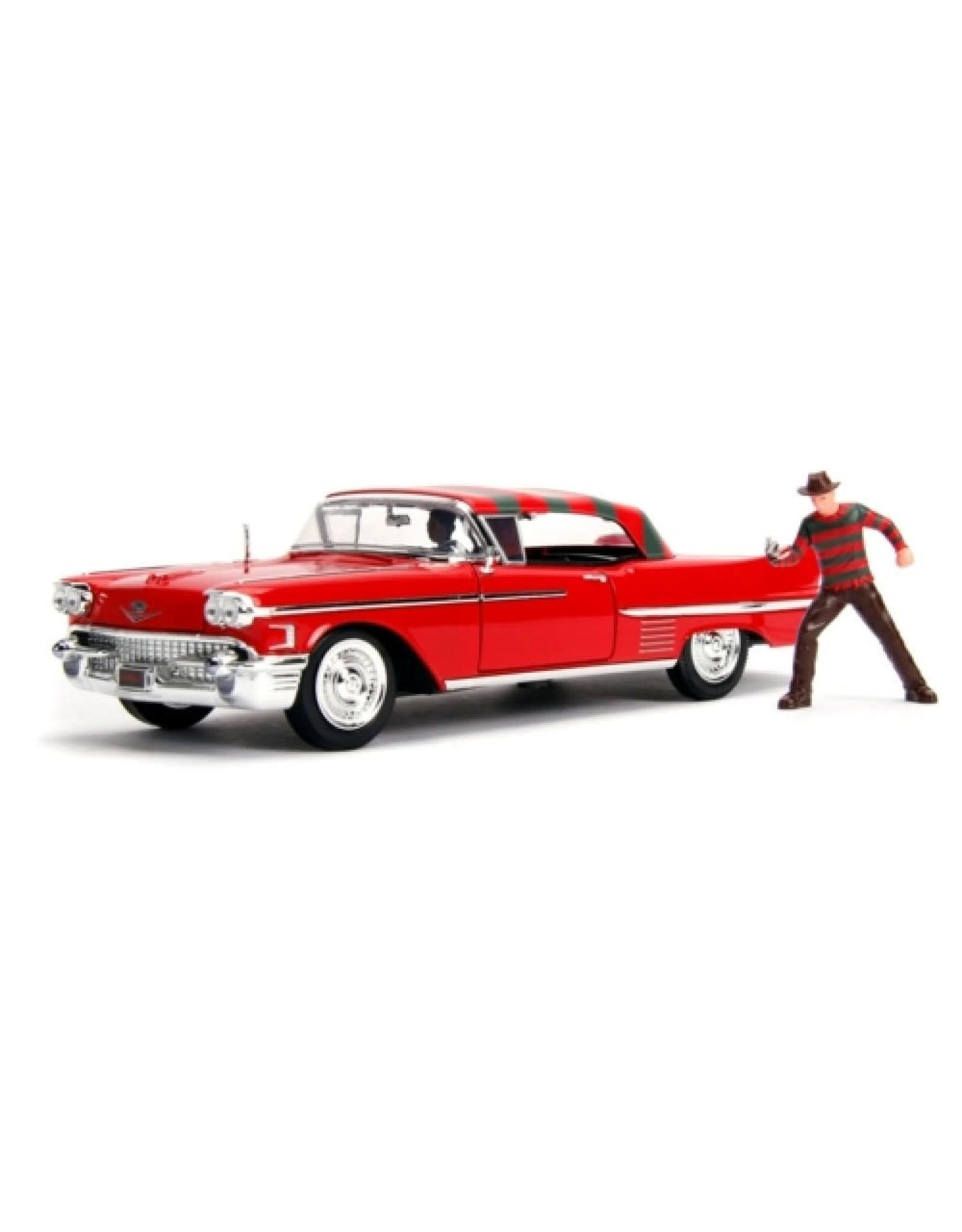 Jada Freddy Krueger & 1958 Cadillac Series 62