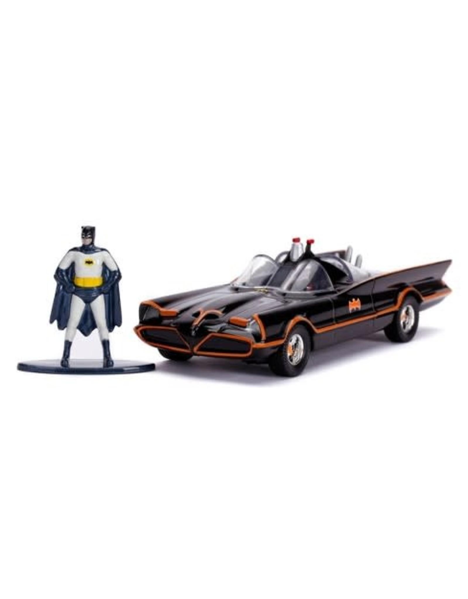 Jada Classic TV Series 1966 Batmobile & Batman
