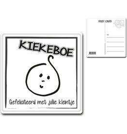 """Postcard """"KIEKEBOE"""""""