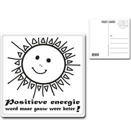 "Postcard ""Positieve Energie"""