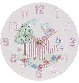 """Wall Clock """"Little Bird & Ellie"""""""