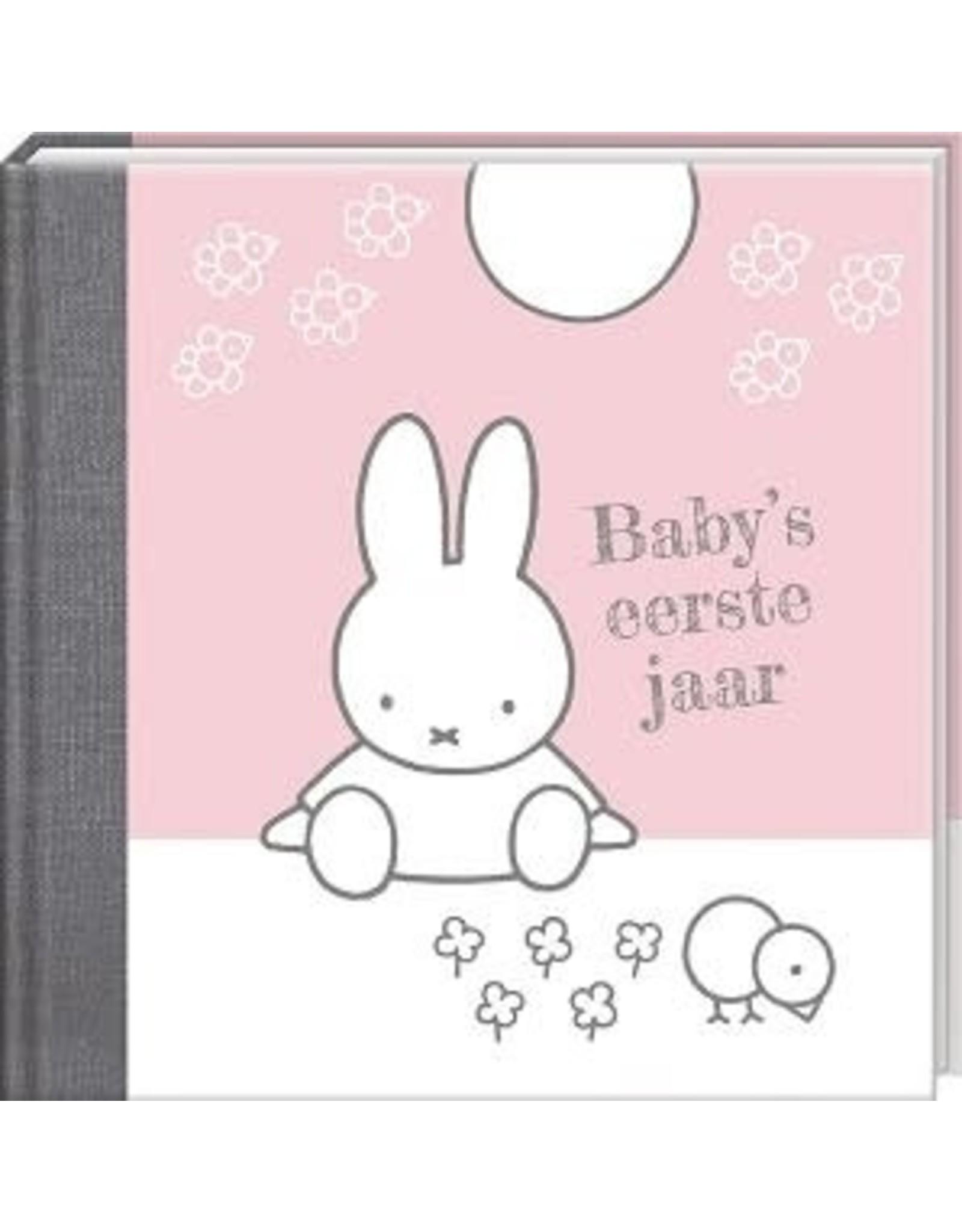 Baby's eerste jaar - nijntje Roze