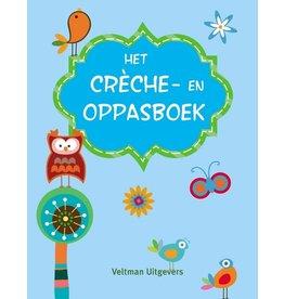 Het Crèche- en Oppasboek Blauw