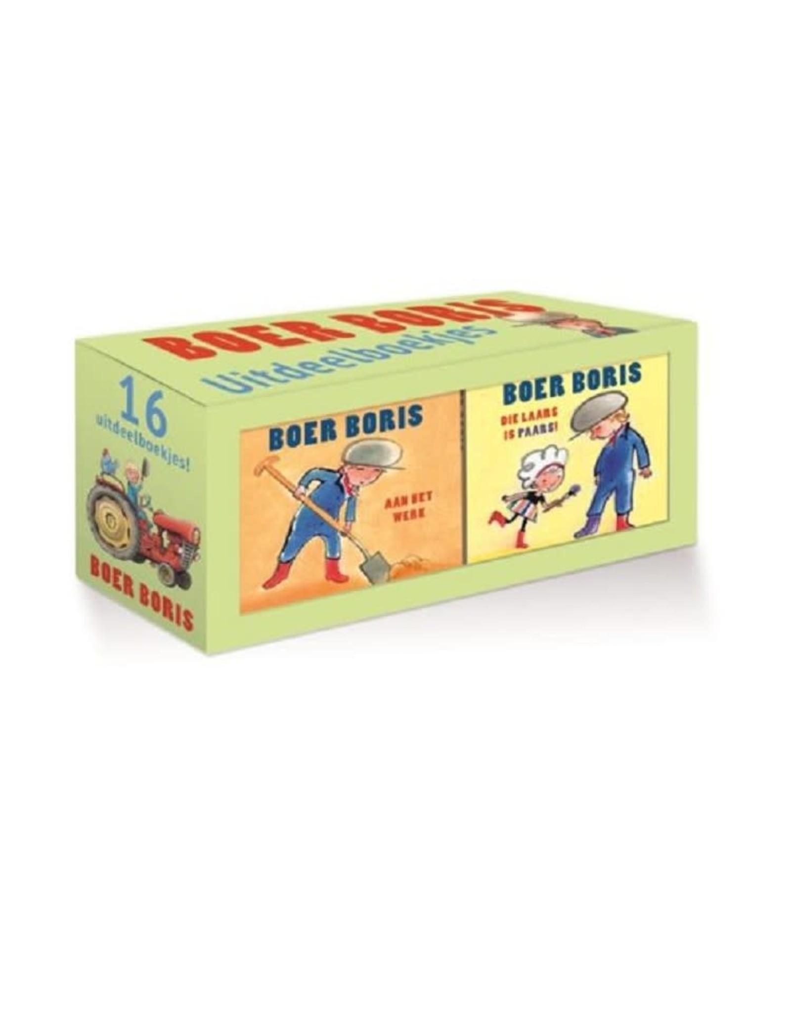 Boer Boris 4x4 uitdeelboekjes (karton) 2+