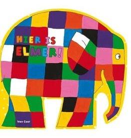 Hier is Elmer (karton) 2+