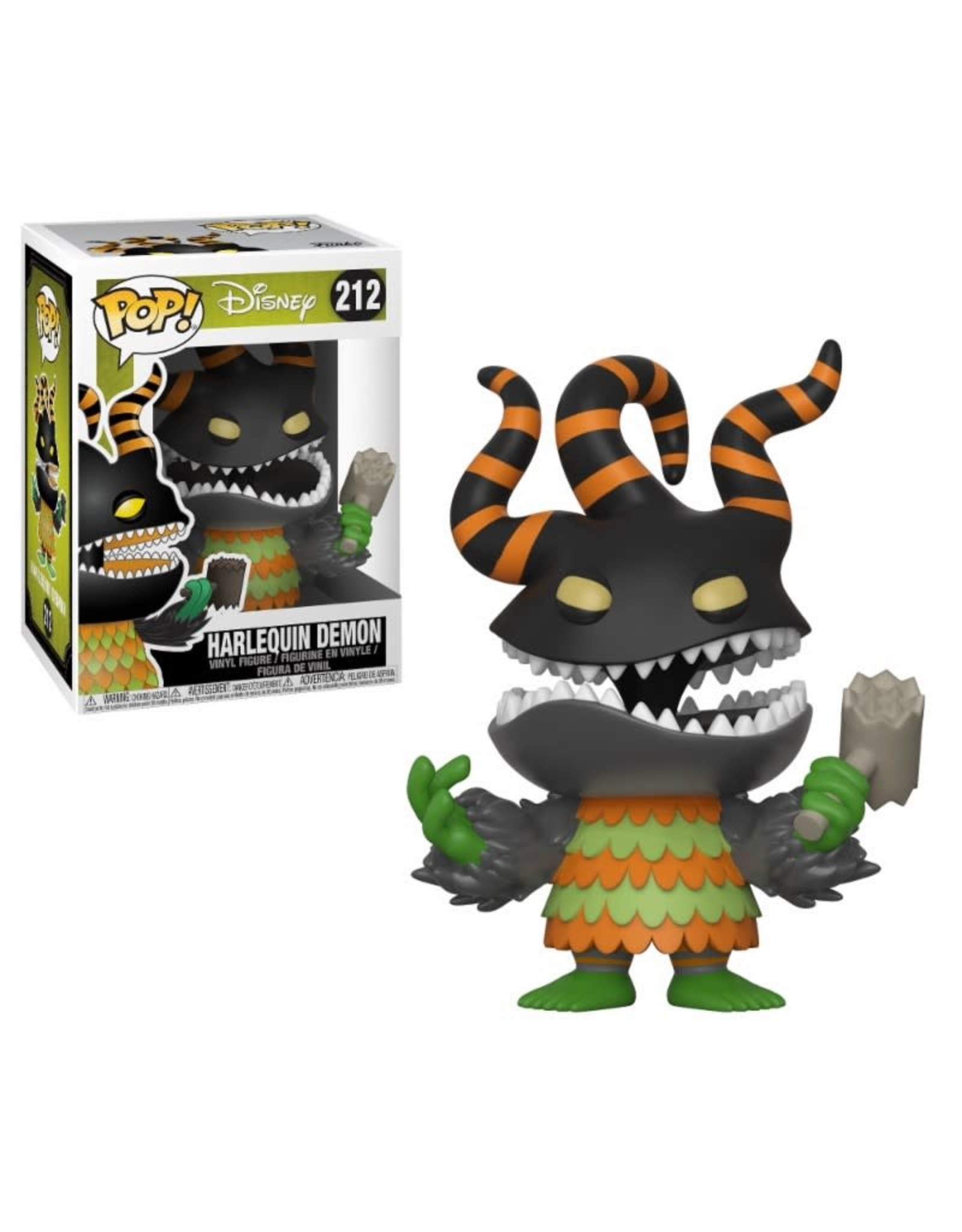 Funko Pop! Funko Pop! Disney nr212 Harlequin Demon