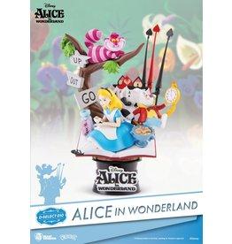 Disney Alice in Wonderland Diorama Stage
