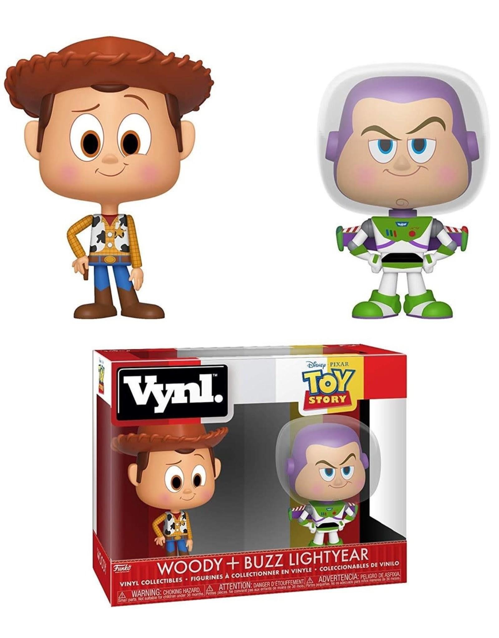 Funko Funko Vynl Disney - Toy Story Woody + Buzz Lightyear