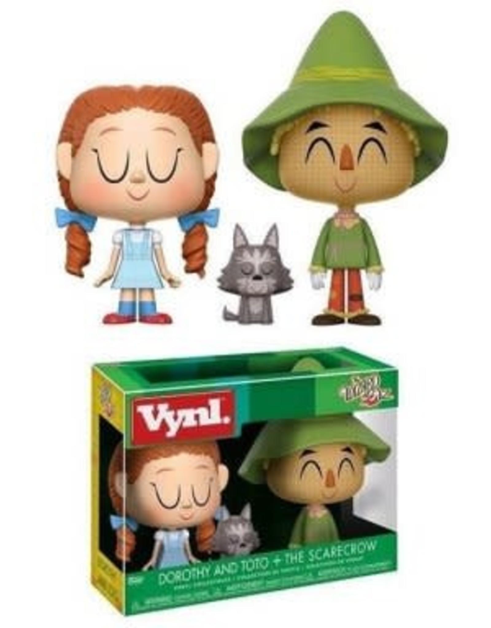 Funko Funko Vynl The Wizard of Oz - Dorothy and Toto + The Scarecrow