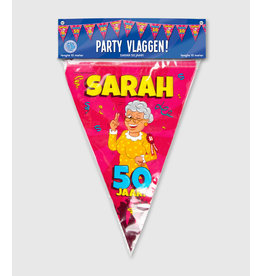Party Vlaglijn Cartoon Sarah