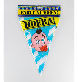 Party Vlaglijn Geboorte Jongen