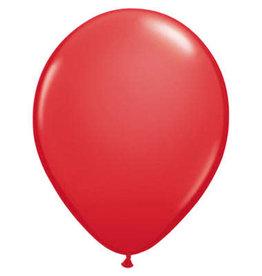 Ballonnen 10 stuks Rood
