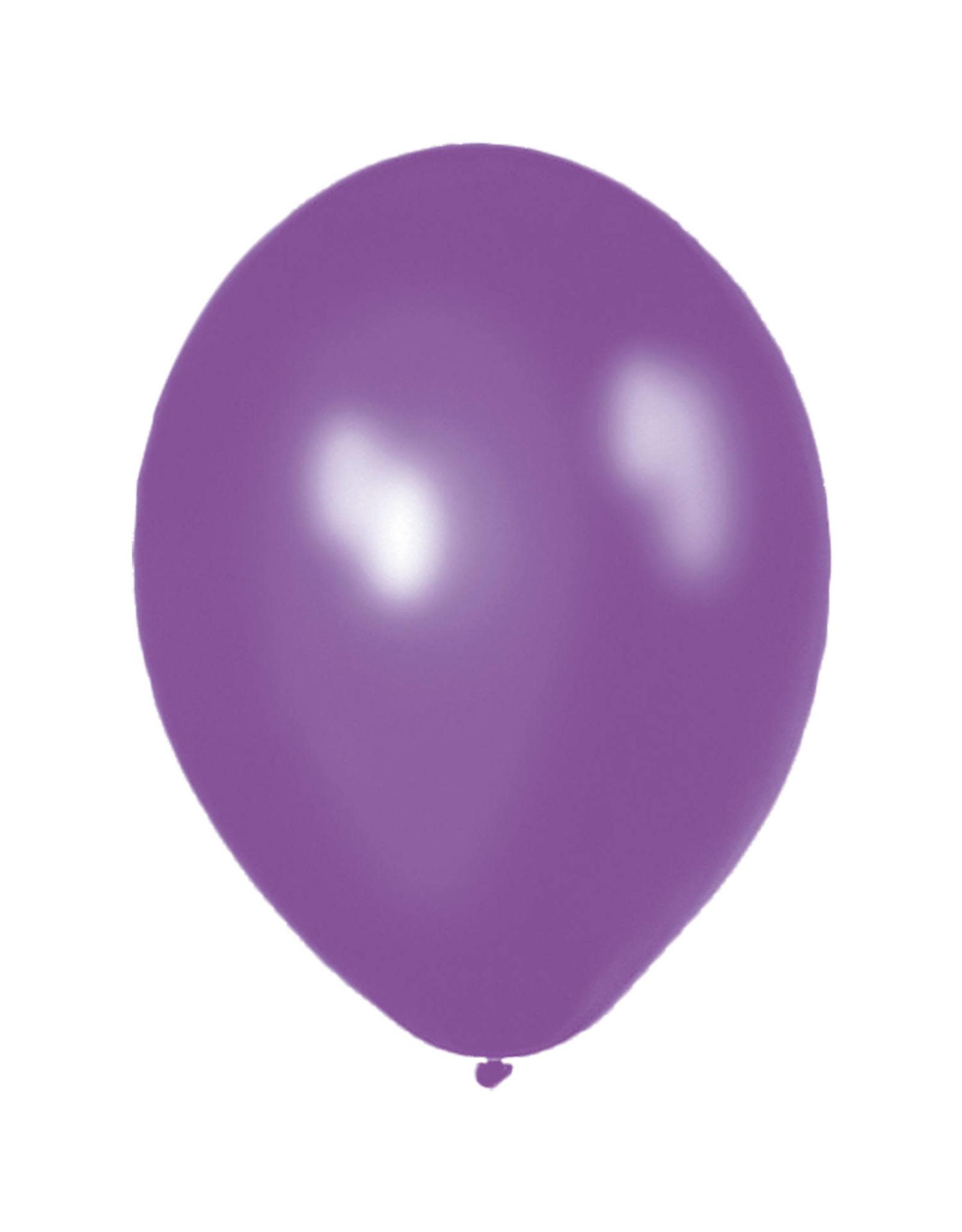 Ballonnen 10 stuks Paars