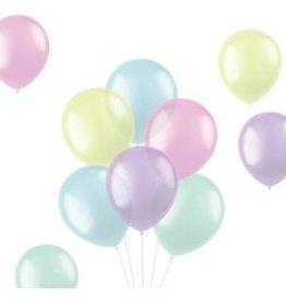 Ballonnen Mix Pastels