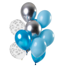 Ballonnen Mix Aquamarine