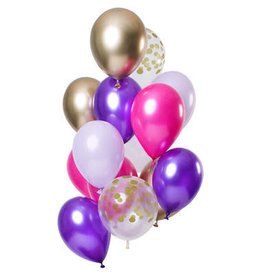 Ballonnen Mix Purple Posh