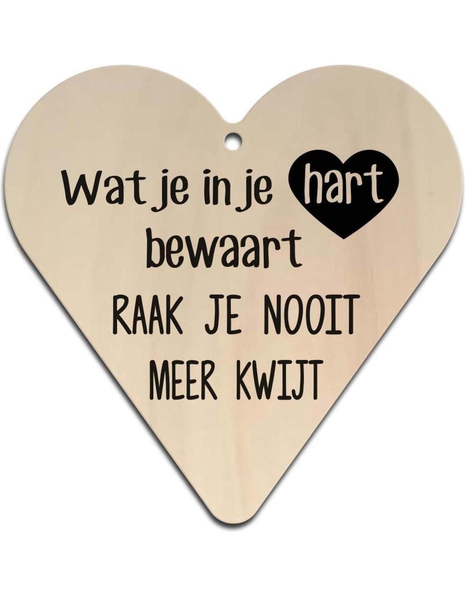 "Hart ""Wat je in je hart bewaart.."""