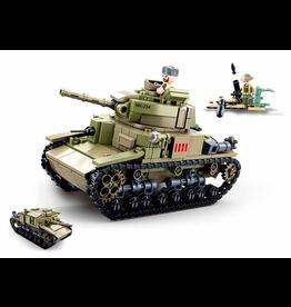 Sluban Sluban Army - Italiaanse Tank M38-B0711