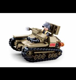 Sluban Sluban Army - Italiaanse Tank M38-B0709