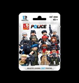 Sluban Mini Figure Police M38-B0583