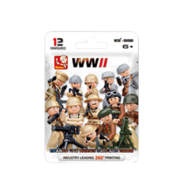 Sluban Mini Figure WWII M38-B0580