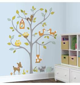 """Muursticker """"Woodland Tree"""""""