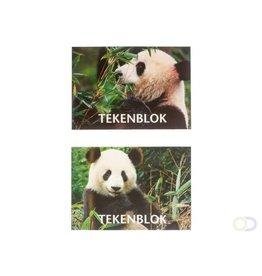 "Tekenblok ""Panda"" A5"