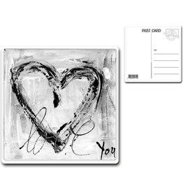 "Postcard ""Love You"""