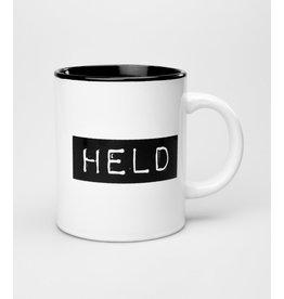 Black & White Mug - Held